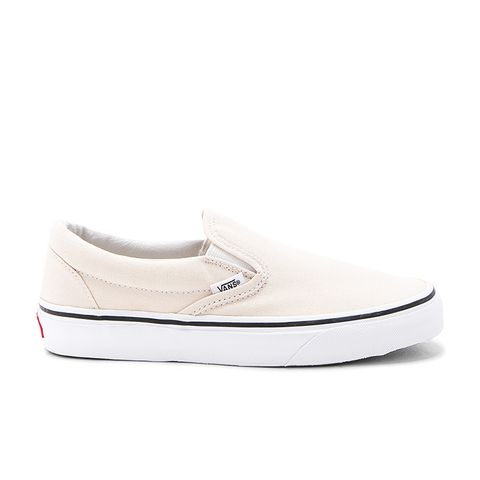 Classic Slip-On in Cream