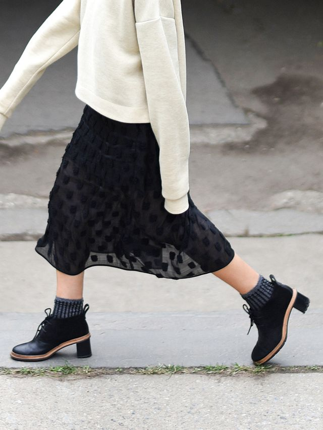 4 Chic Fall Looks That Are All About Great Boots Whowhatwear