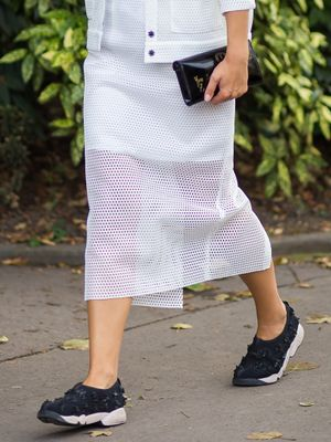 Proof That Fashion Girls Will Be Giving Up Shoe Laces Soon