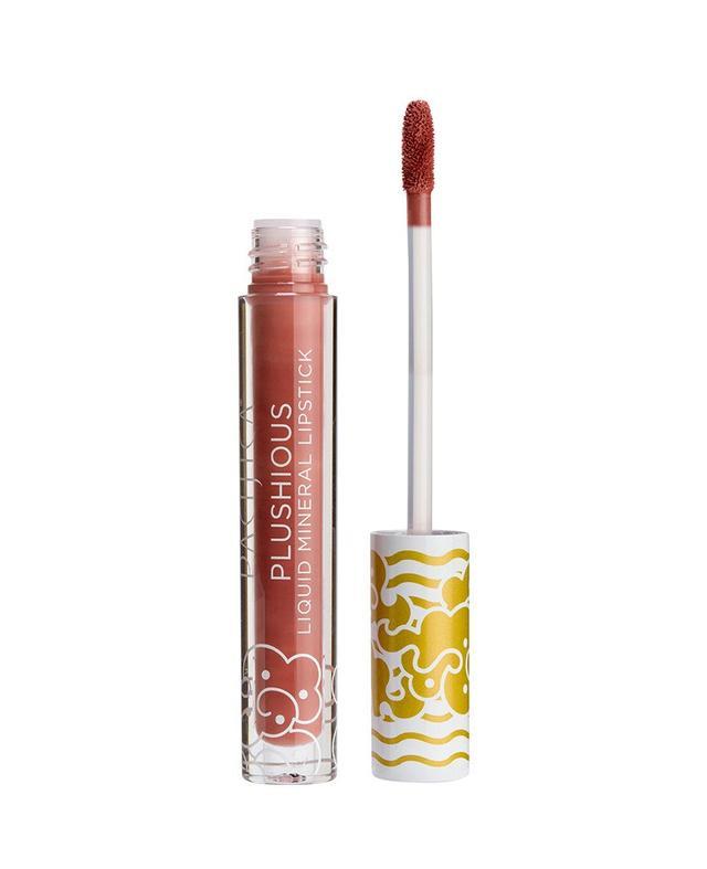 Plushious Liquid Mineral Lipstick - Crave (pink)