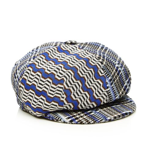 Newsboy Plaid Cap