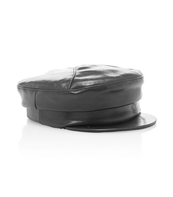 Georgie Leather Hat