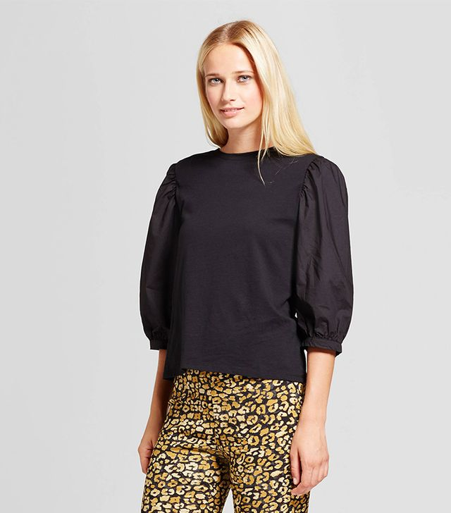 Billow Long Sleeve Woven Top-