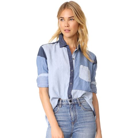 Zoey Button Down Shirt
