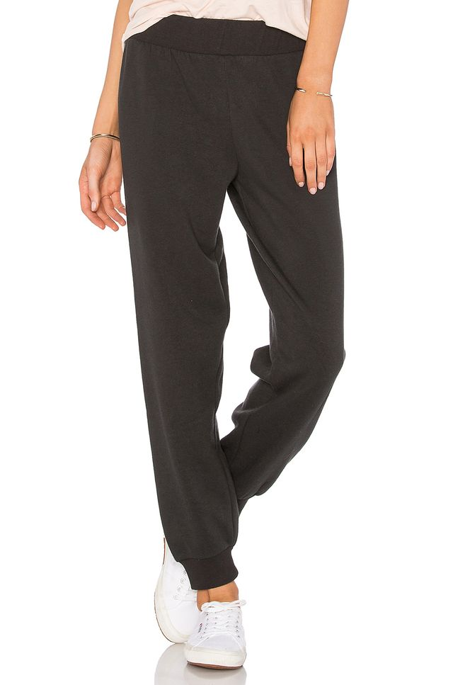 Love Script Dorm Pant in Charcoal. - size M (also in S,XS)