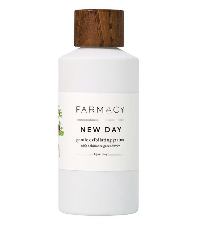 Best face scrub for sensitive skin: Farmacy New Day