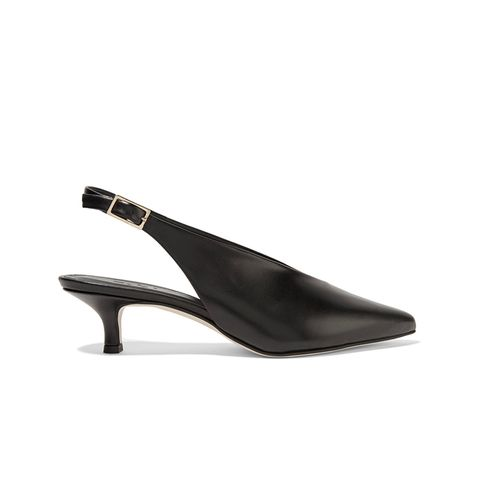 Lia Leather Pumps