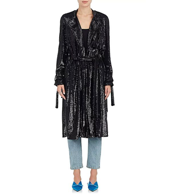 Women's Holloway Sequined Coat