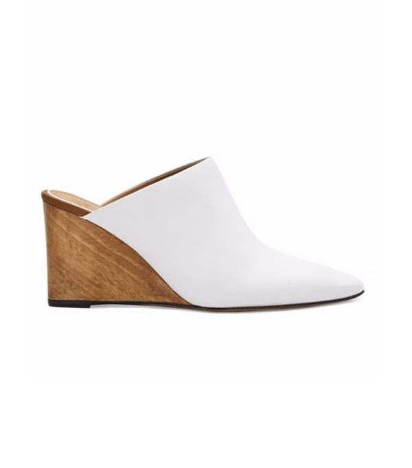 Flora Wedge Mules