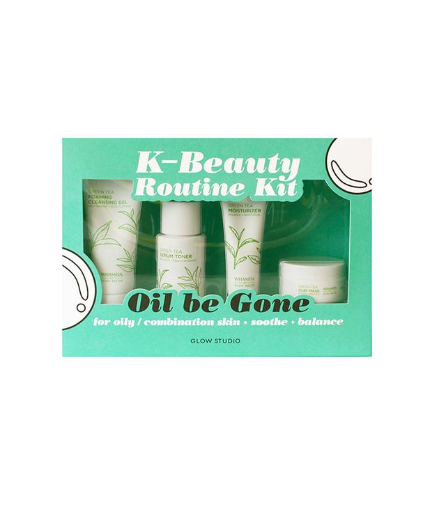 Glow Studio Oil Be Gone K-Beauty Routine Kit
