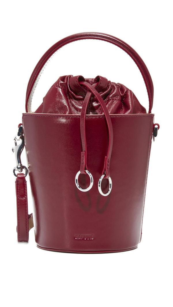Mini Basket Bucket Bag