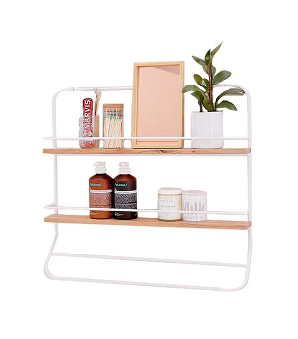 Over-The Door Tiered Storage Rack - Rust One Size at Urban Outfitters