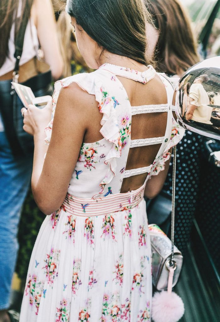 Floral Dress for Summer Street Style
