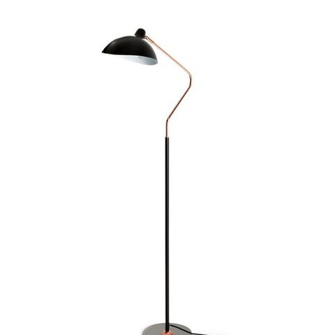 Leap Black Floor Lamp