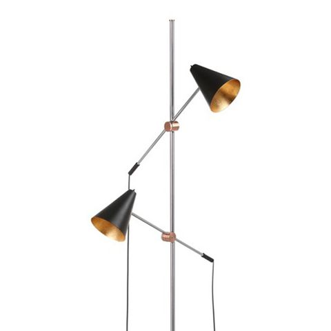 Reed 71-Inch H Floor Lamp Black