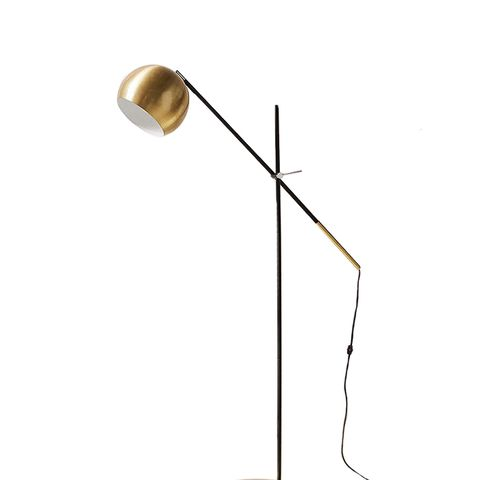 Culver Brass Floor Lamp