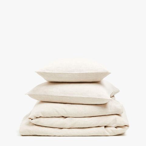 Washed Linen Top Sheet