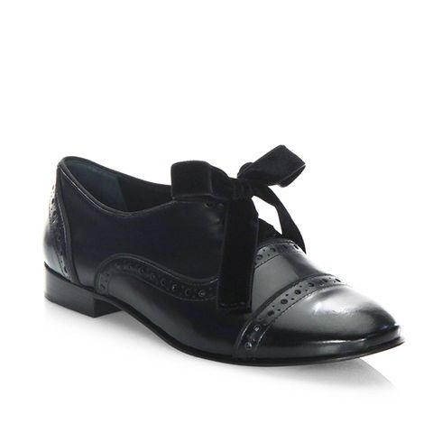 Haverford Leather Brogue Oxfords