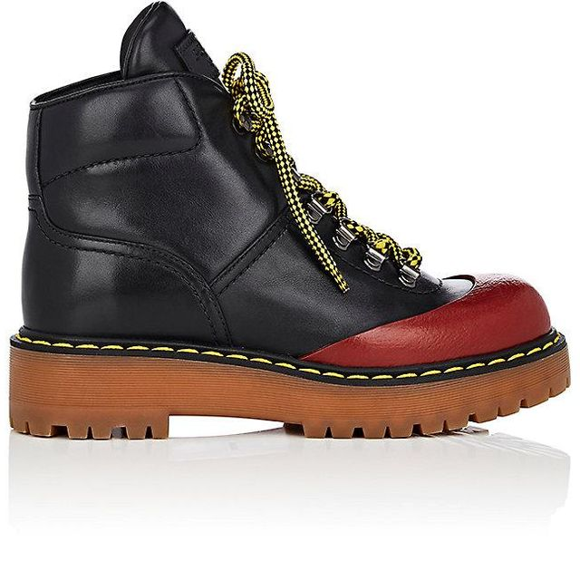 Women's Leather Hiker Boots
