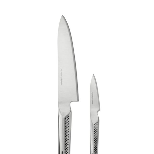 Global Ukon 2-Piece Prep Paring Chef's Knife Set