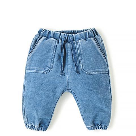Plush Denim Trousers