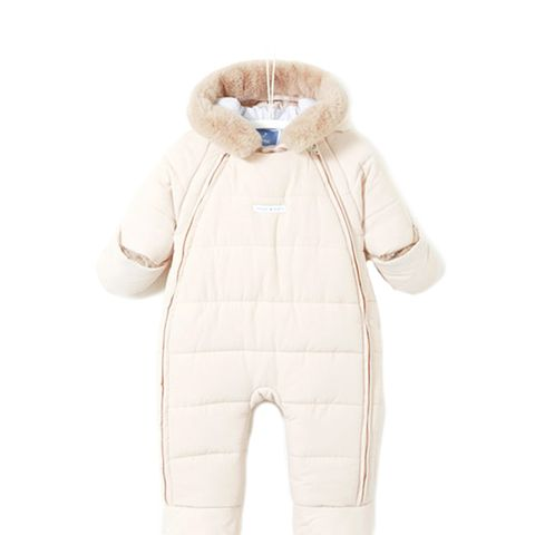 Quilted Snow Suit
