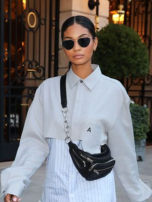 We Never Thought to Do Denim This Way, Chanel Iman
