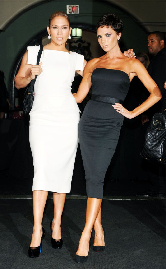 Jennifer Lopez Roland Mouret dress