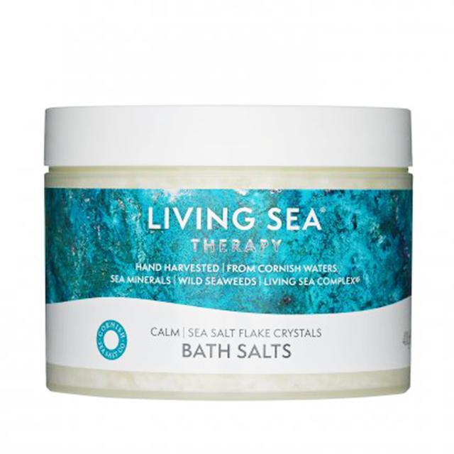 How to take a bath: Living Sea Therapy Calm Bath Salts