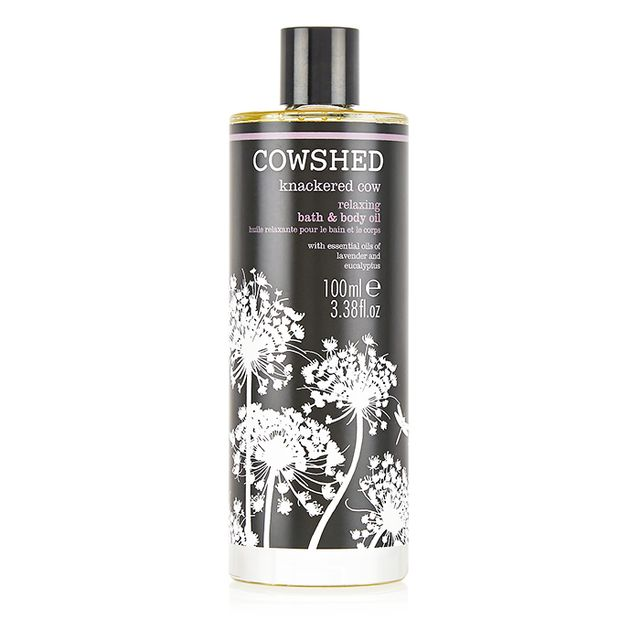How to take a bath: Cowshed Knackered Cow Bath & Body Oil