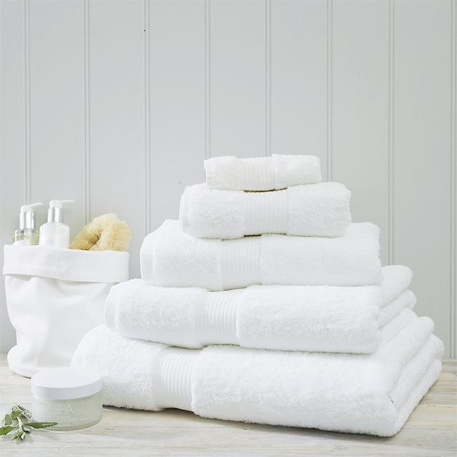 How to take a bath: The White Company Luxury Egyptian Cotton Bath Sheet