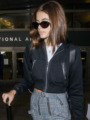 Kaia Gerber May Convince You to Trade Your Airport Leggings for These
