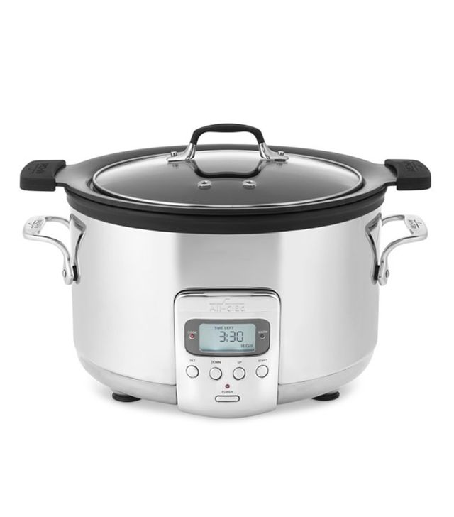 All-Clad Deluxe Slow Cooker with Cast-Aluminum Insert