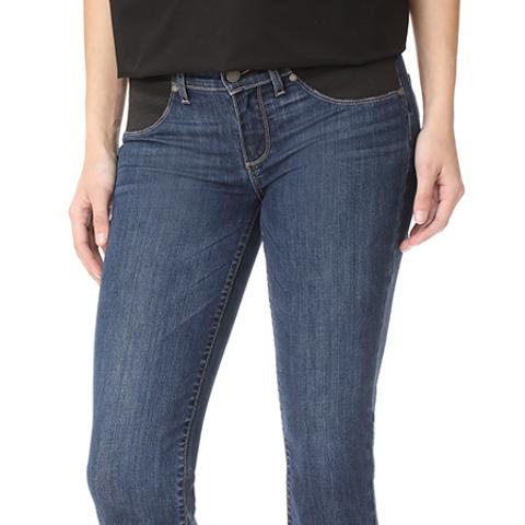 Maternity Riley Slim Crop-Flare Jeans