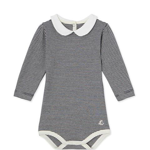 Milleraies Striped Bodysuit