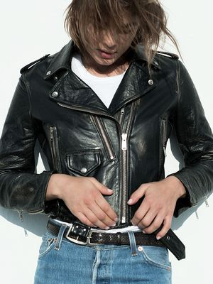 Meet the Special Leather Jacket It Girls Will Wear for Decades