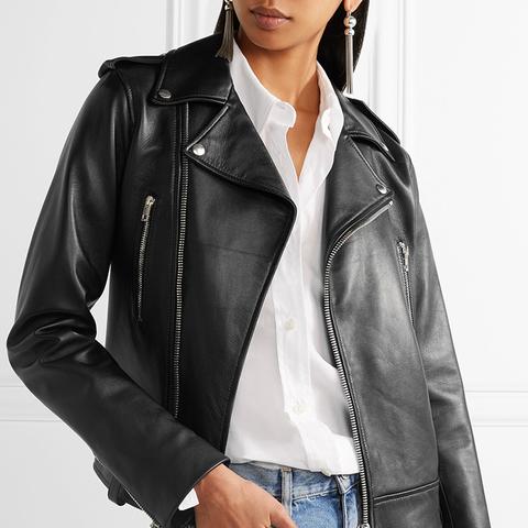 Ryder Leather Biker Jacket