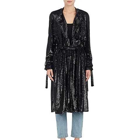 Holloway Sequined Coat