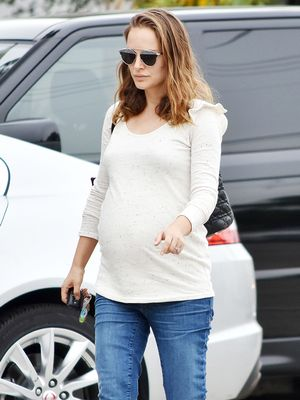 These Are the Best Petite Maternity Jeans