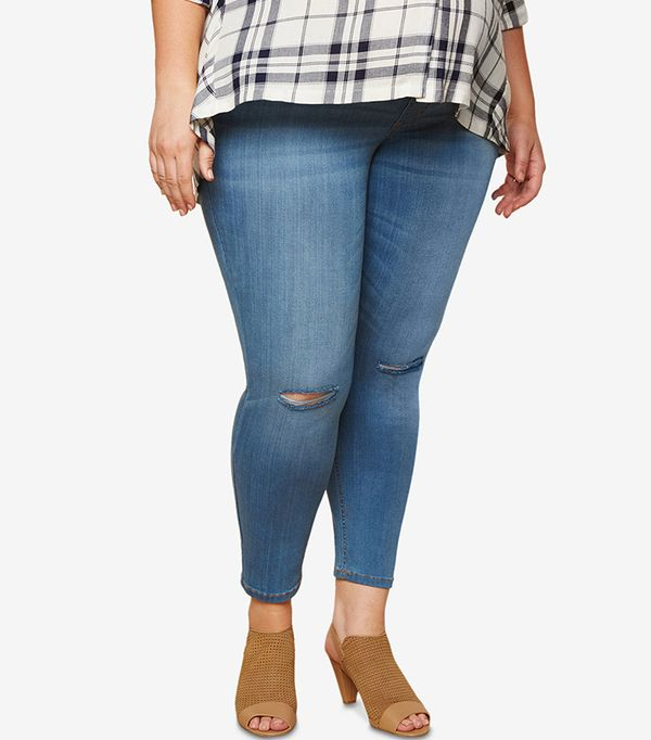 plus size maternity jeans