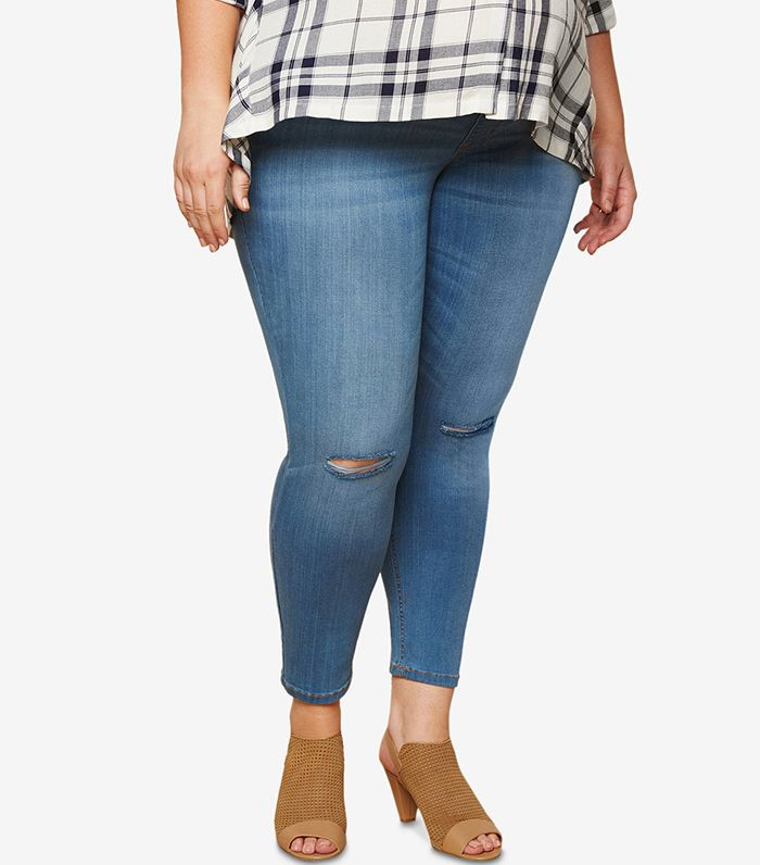 These Are The Best Petite Maternity Jeans Who What Wear