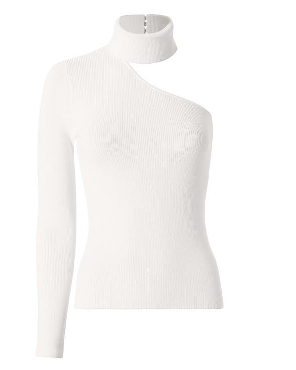 Farrah One Shoulder Choker Neck Top