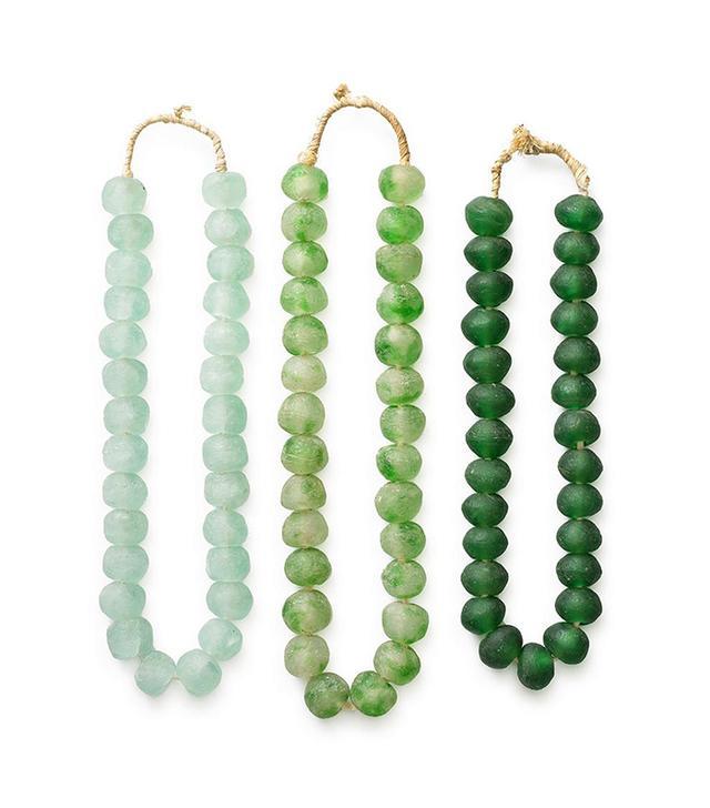 St Frank Glass Beads From Ghana