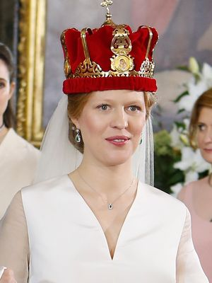 This Serbian Princess Got Married in a Very Non-Princess Dress