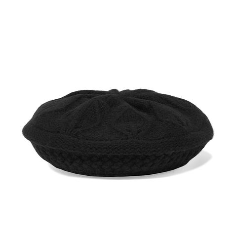 Merino Wool and Cashmere-Blend Beret