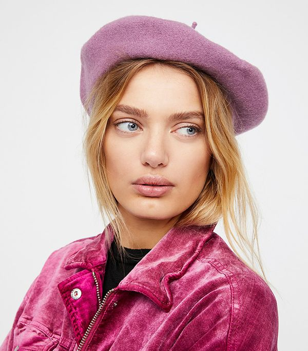 how to style with a beret