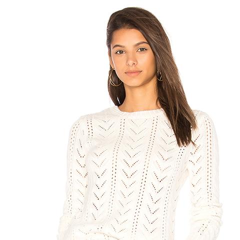 Fulton Sweater in Ivory