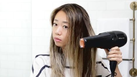 Watch: This High-Tech New Hair Dryer Straightens and Dries at the Same Time