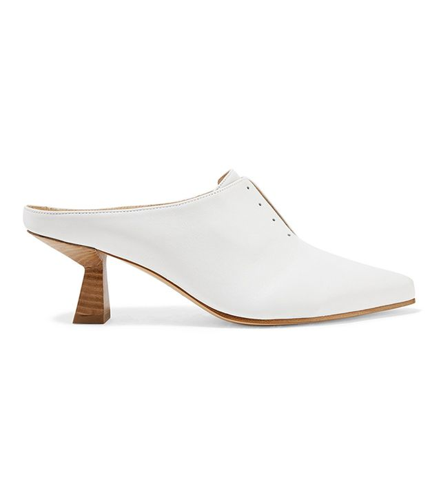 Antoinette Leather Mules