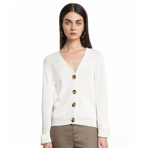 Monrow Button Cardigan